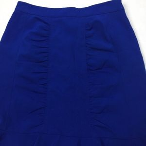 Anthropologie Skirts - Anthropologie HD Paris Ruched Ruffle Pencil Skirt